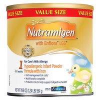 Enfamil Nutramigen with Enflora LGG Infant Formula Powder - 19.8oz (4 Pack)