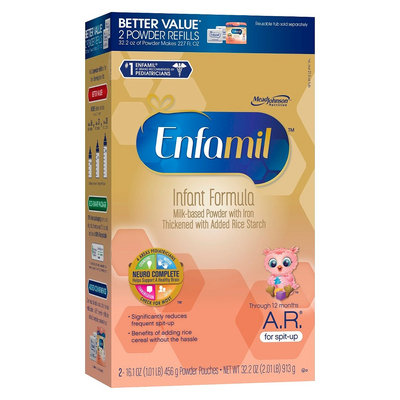 Enfamil A.R. Infant Formula Powder Refill Box - 32.2oz (4 Pack)