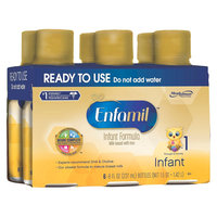 Enfamil Premium Ready to Use, 6 - 8 Fl oz Bottles (4 Pack)