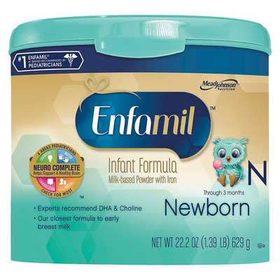 Enfamil Premium Newborn Formula Powder - 22.2oz (4 Pack)