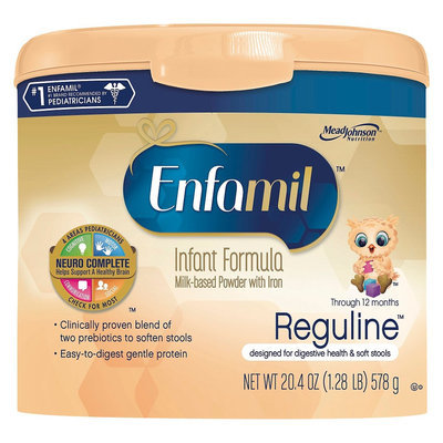 Enfamil Reguline Powder Formula - 20.4oz (4 Pack)