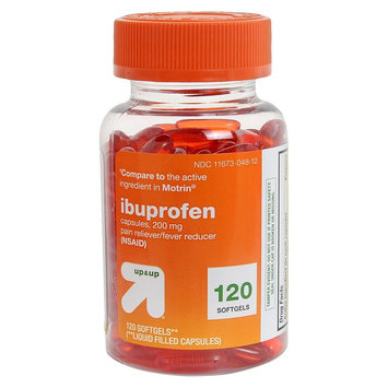 up & up Ibuprofen Pain Reliever/Fever Reducer Softgels - 120 Count