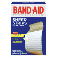 10 Count Adhesive Bandages Band-Aid