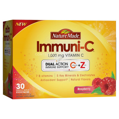 Nature Made Immuni-C Vitamin C Raspberry 1000 mg