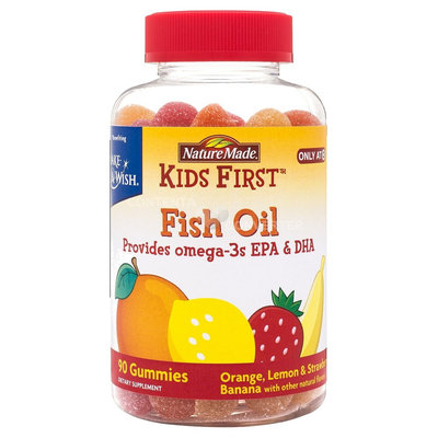 Nature Made Kid's First Fish Oil Gummy - 90 Count