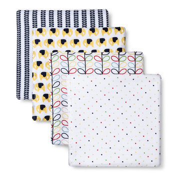 aden by aden + anais for Target by Orla Kiely swaddleplus 4-pack