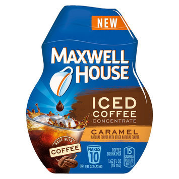 Maxwell House Iced Coffee Concentrate Caramel Instant Coffee Beverage Mix 1.64 oz