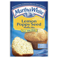 Martha White Lemon Poppy Seed Muffin Mix, 7.6 oz, 12 pk