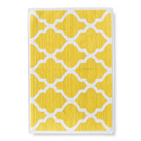 Threshold Woven Bath Mat - Beehive Yellow (21x30