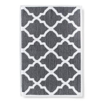Threshold Woven Bath Mat - Cloak Gray (21x30