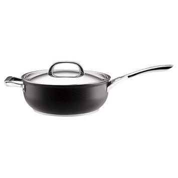 Circulon Infinite 6 Quart Covered Chef's Pan with Handle Helper