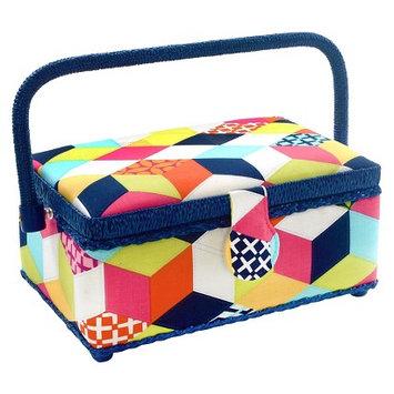 Prym Dritz St. Jane Small Rectangle Sewing Basket