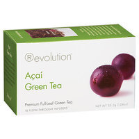 Revolution Tea Acai green tea, 16 ct Teabags, 6 pk