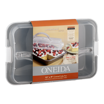 Oneida 13'' x 9'' Covered Cake Pan