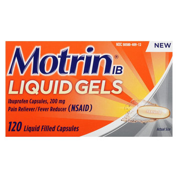 Motrin IB Liquid Gel Capsule 120ct