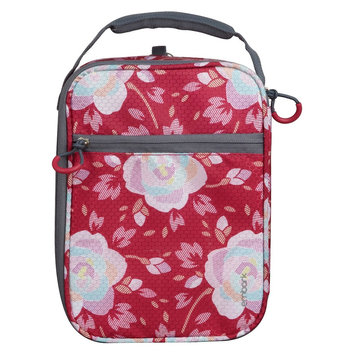 Embark Crushproof Lunch Box 420D Hex Ripstop regular Poly-Print Floral Size:7.25in H x 10.25in W x 3.5in