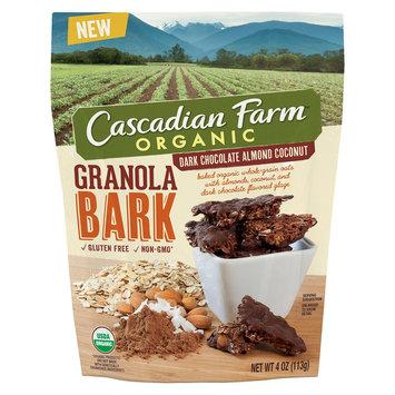 Cascadian Farms Dark Chocolate Almond Coconut Granola Bark