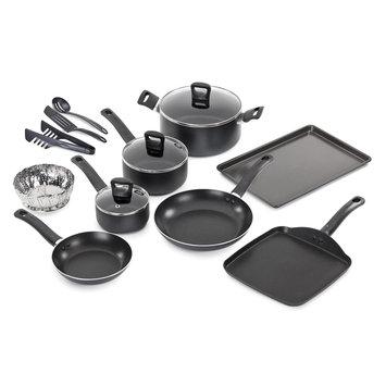 T-fal Corporation T-fal 14 Piece Banquet Cookware Set Gray - T-FAL CORPORATION