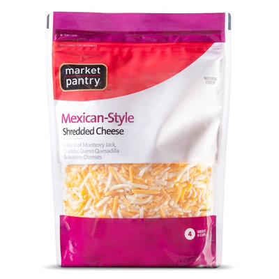 Market Pantry MP Mexican 4 Cheese Shred
