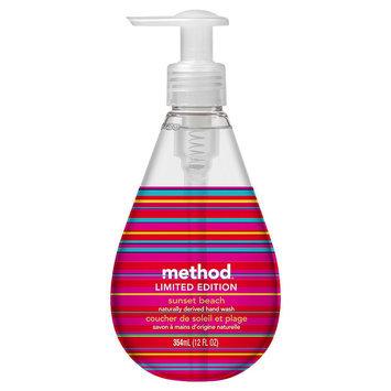 Method Gel Hand Wash Sunset Beach 12floz
