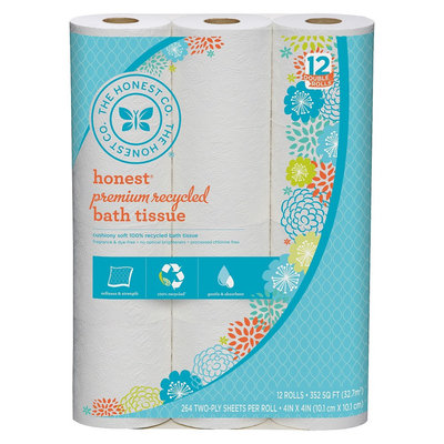 The Honest Co. Premium Recycled Toilet Paper
