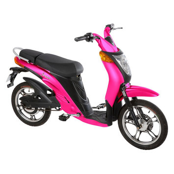 Jetson Electric Bike - Magenta Pink