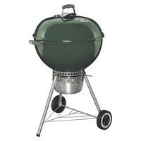 Weber Grill. Original Kettle Premium 22 in. Charcoal Grill in Green