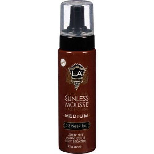 LA Tan Sunless Mousse, Medium, 7 fl oz