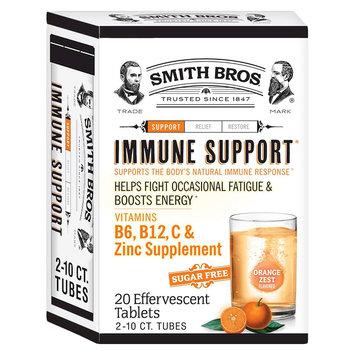 Smith Bros Orange Zest Immune Support Tablets - 20 Count