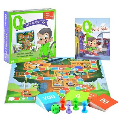 Eqtainment Qs Race to the Top Board game