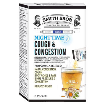 Smith Bros Honey Chamomile Cough & Congestion Powder - 8 Count
