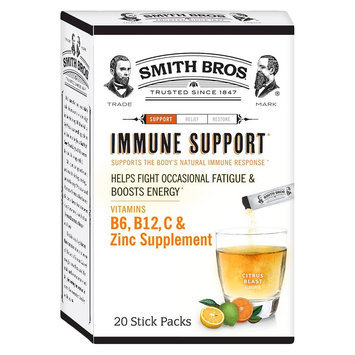 Smith Bros Citrus Blast Immune Support Powder - 20 Count