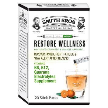 Smith Bros Orange Zest Restore Wellness Powder - 20 Count
