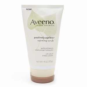 Aveeno® Positively Ageless Warming Scrub