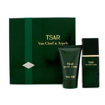 Van Cleef & Arpels Tsar Coffret: Eau De Toilette Spray 30ml/1oz + After Shave Balm 40ml/1.3oz 2pcs
