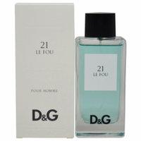 Dolce & Gabbana 21 Le Fou Eau de Toilette Spray