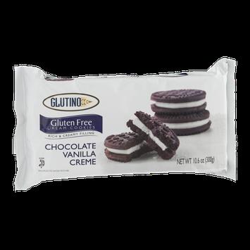Glutino Gluten Free Dream Cookies Chocolate Vanilla Creme