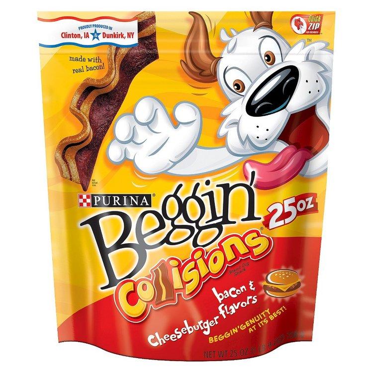 Purina Beggin' Strips Beggin' Bacon Cheeseburger Pet Treats 25 oz