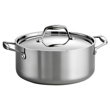 Tramontina Gourmet Tri-Ply Clad Induction-Ready Stainless Steel 5 QT.