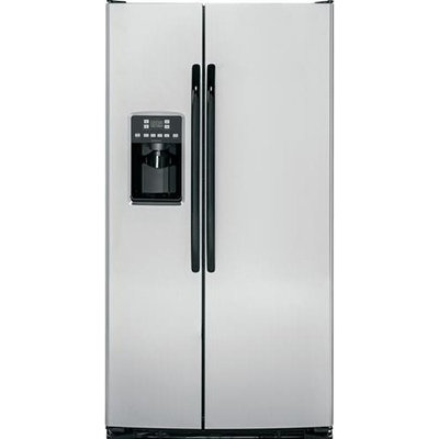 Hotpoint HSS25ASHSS 25.4 Cu. Ft. Stainless Steel Side-By-Side Refrigerator