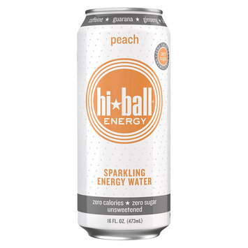 Kehe Hi Ball Energy Peach 16oz Single