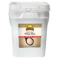 Augason Farms Emergency Food Long Grain White Rice, 28 lb