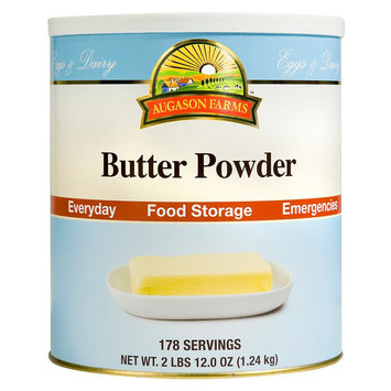 Augason Farms Emergency Food Butter Powder 44 oz