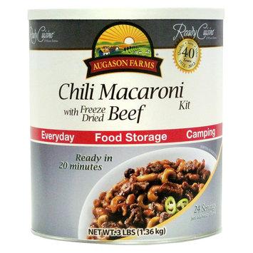 Crown Canyon Augason Farms Ready Cuisine Chili Macaroni with Freeze Dried Beef Kit, 3 lbs