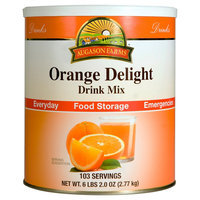 Augason Farms Emergency Food Orange Delight Drink Mix 98 oz