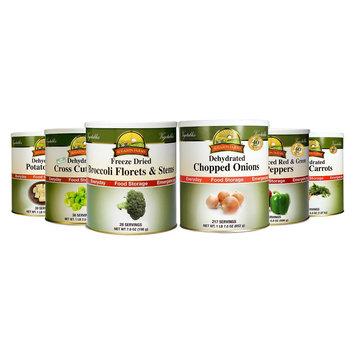 Augason Farms Emergency Food Vegetable Variety 6 pk