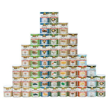 Augason Farms Emergency Food 1-Person 6-Month Food Supply Kit
