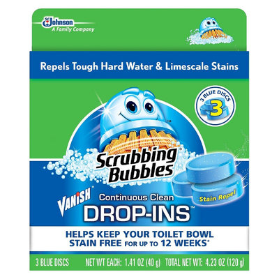 Scrubbing Bubbles 4.2 oz Unscented Toilet Bowl Cleaners