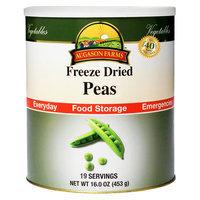 Augason Farms Emergency Food Freeze-Dried Peas, 16 oz