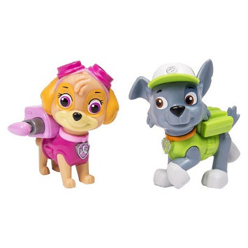 Paw Patrol 2 Pack Figure Skye and Rocky